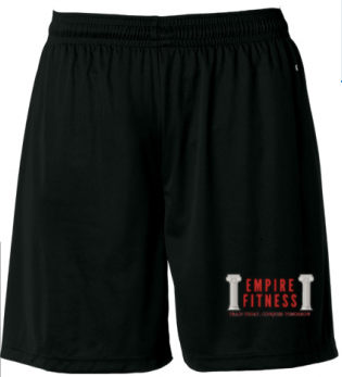 Empire Black Shorts