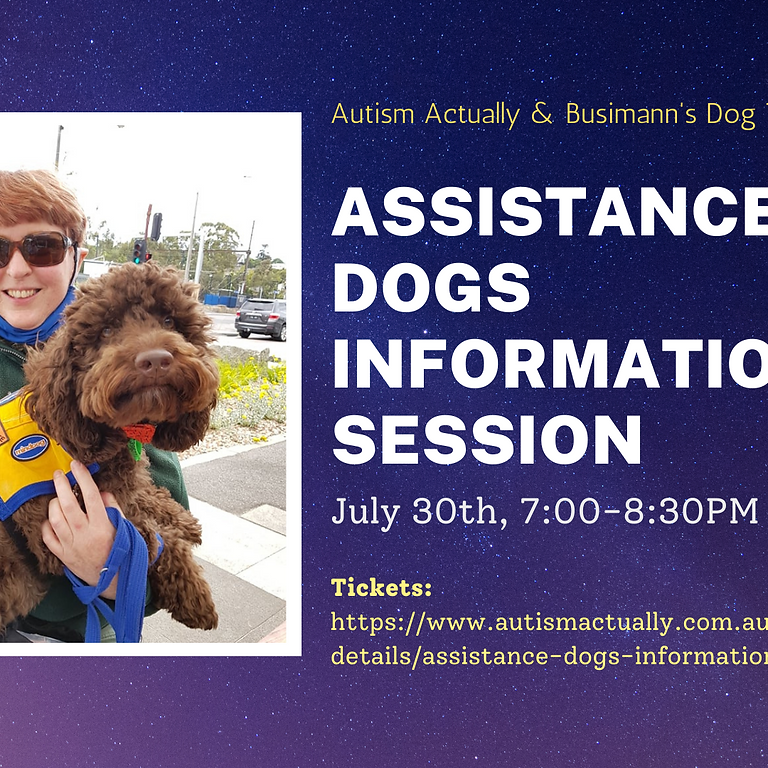 Assistance Dogs Information Session
