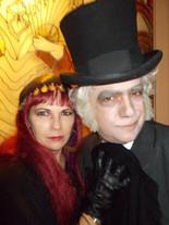 Belladonna and Gravesley RavenHearse