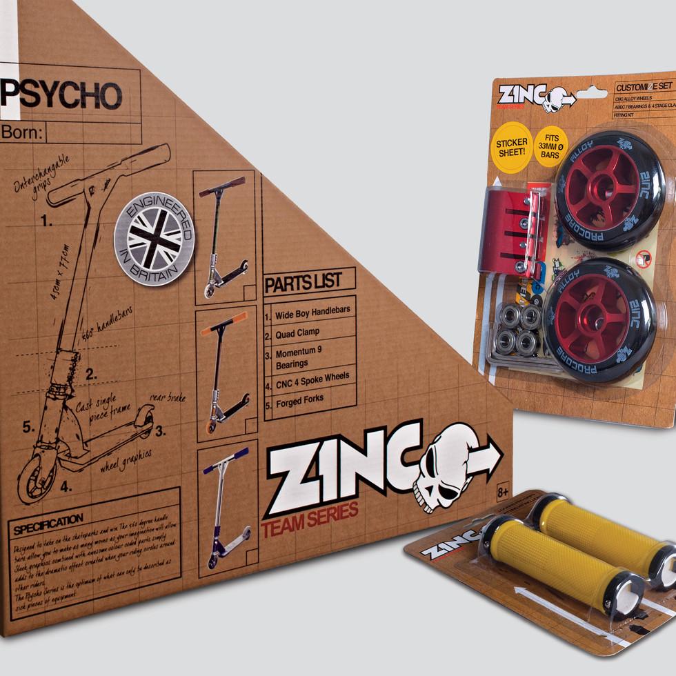 Product & Packaging Design & Artwork