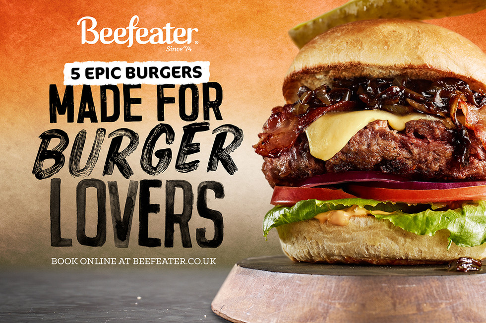 Beefeater Burger Campaign