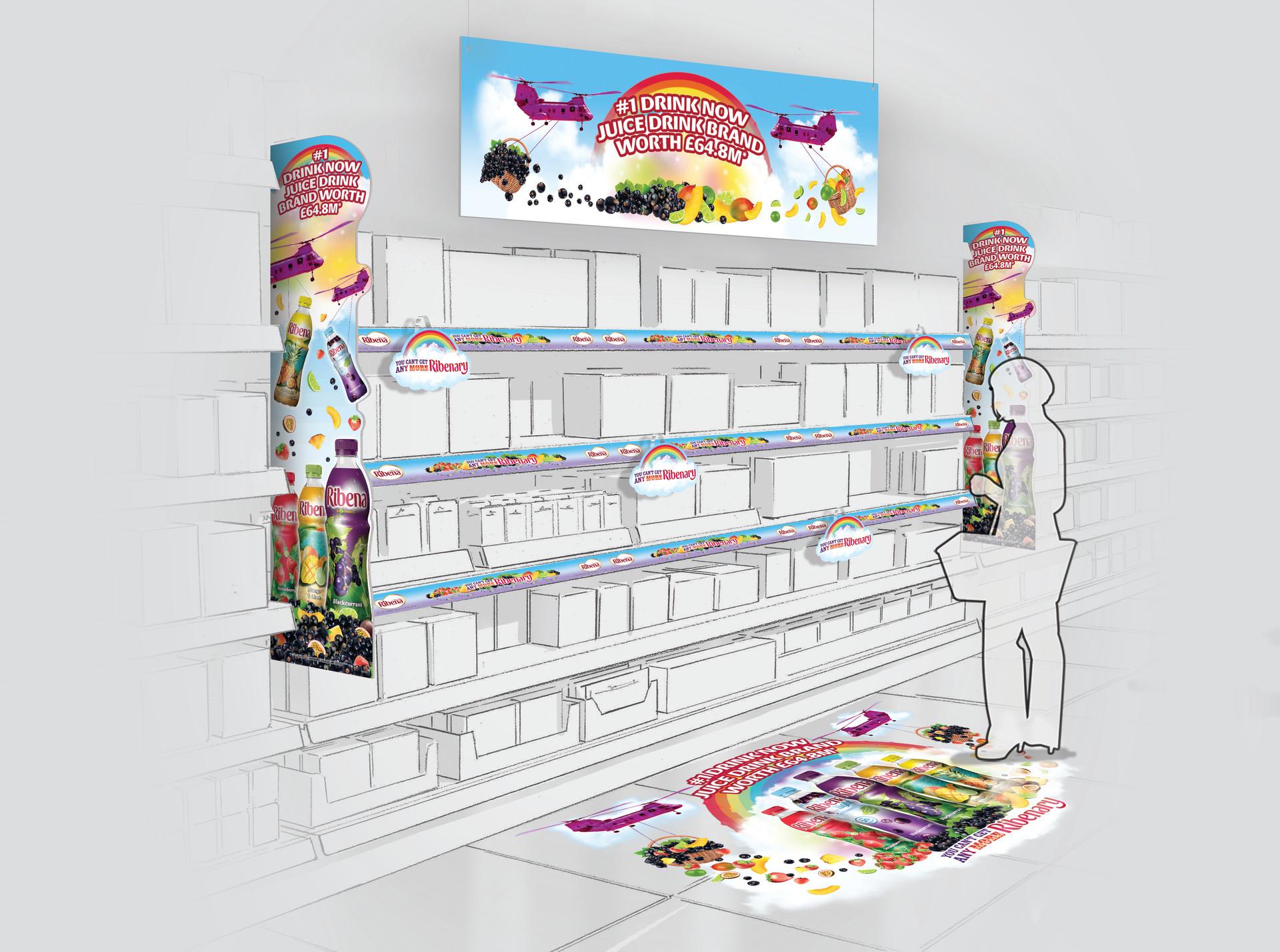 Ribena In Store POS