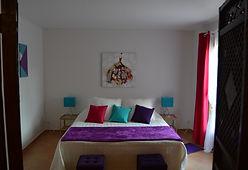Chambre romantique maison d'hôtes Villa Asunda Provence