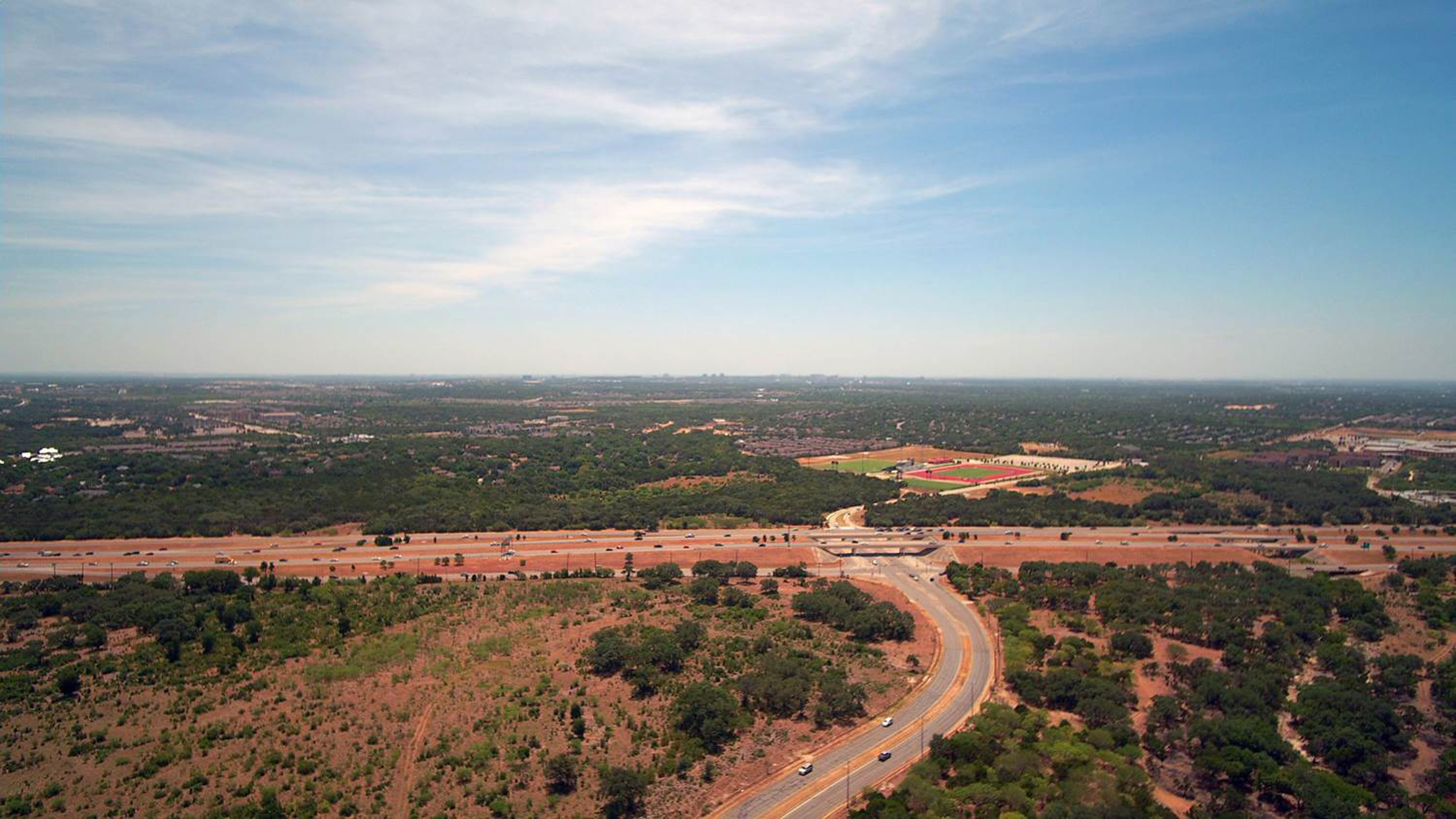 Aerial photography Helotes Texas