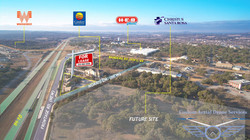 Aerial photography Boerne Texas