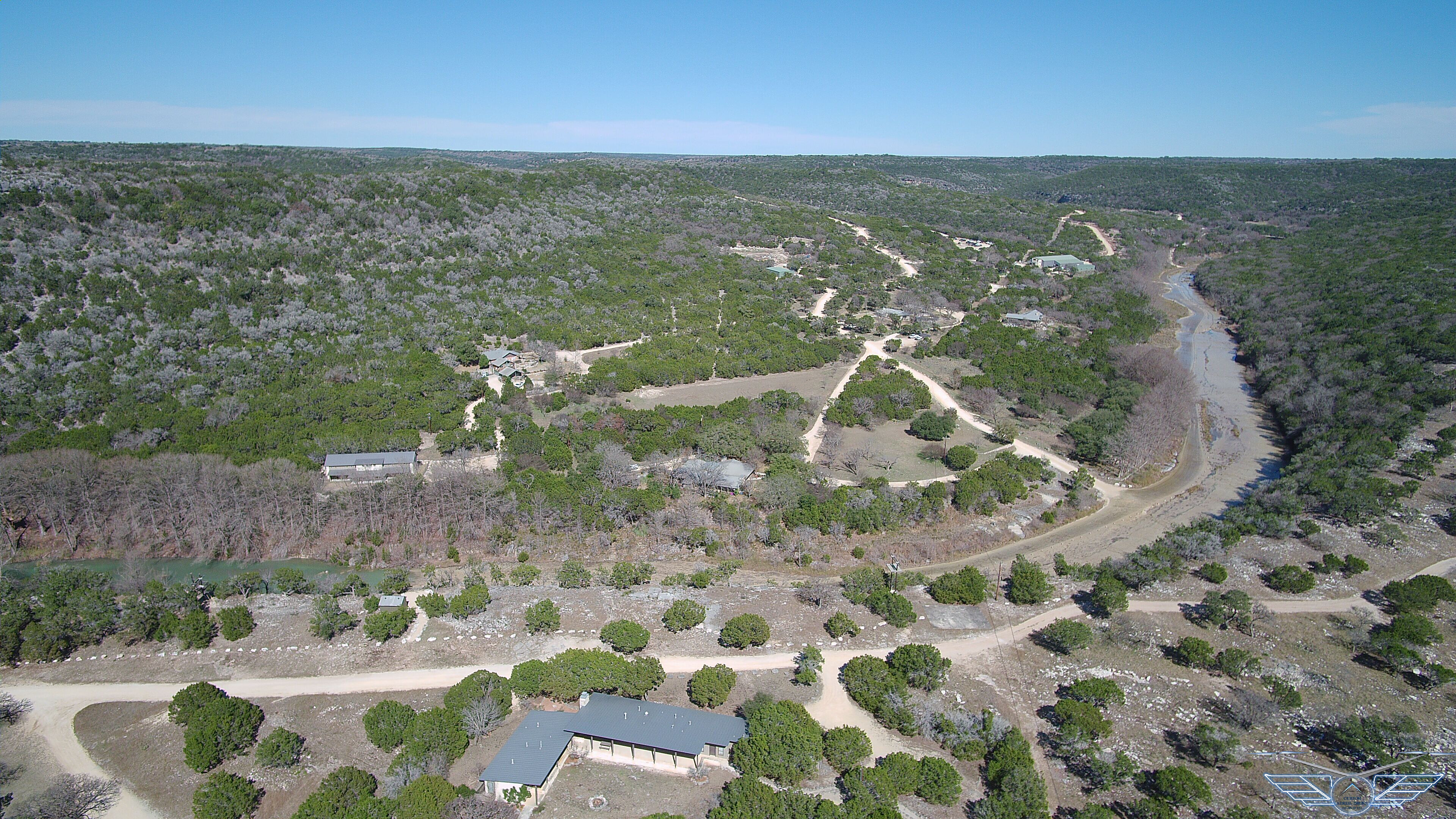 Aerial photography hill country