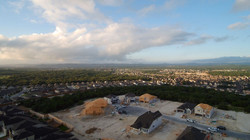 Aerial photography construction