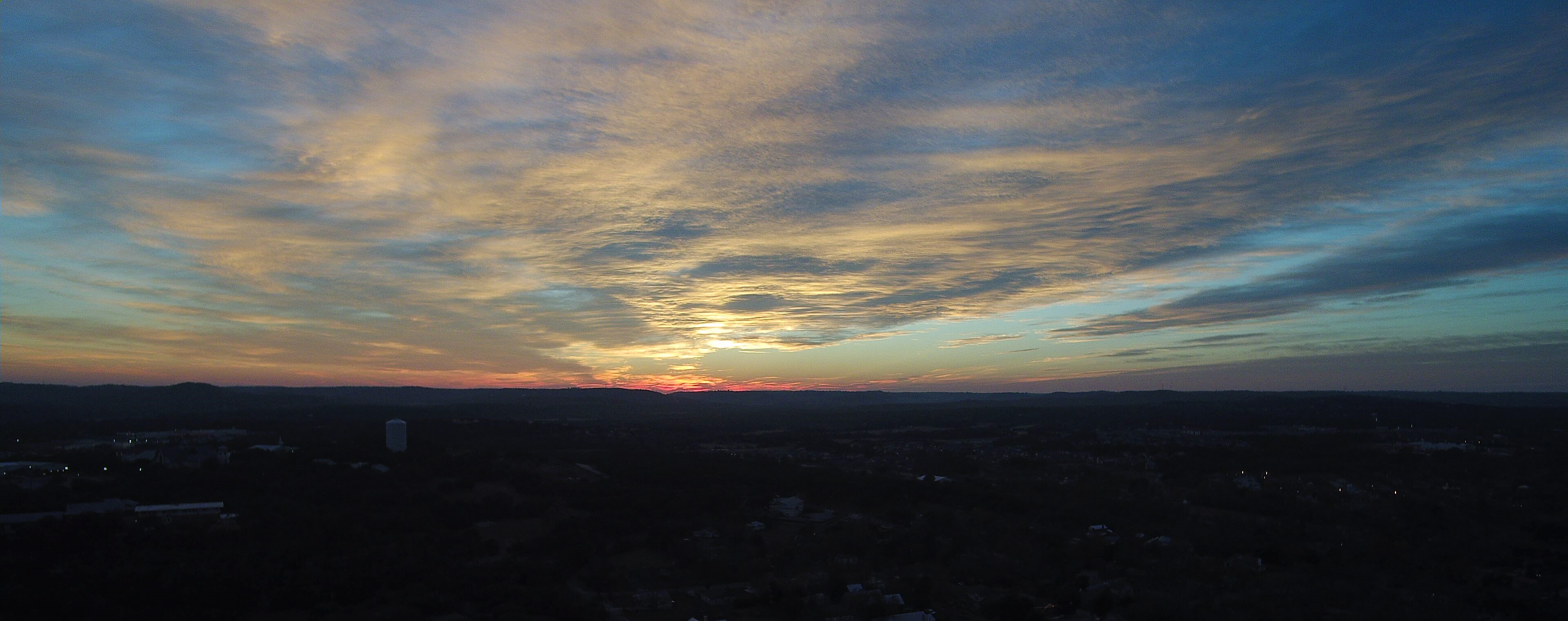 Boerne Sunset 12Dec2016_1_wideview