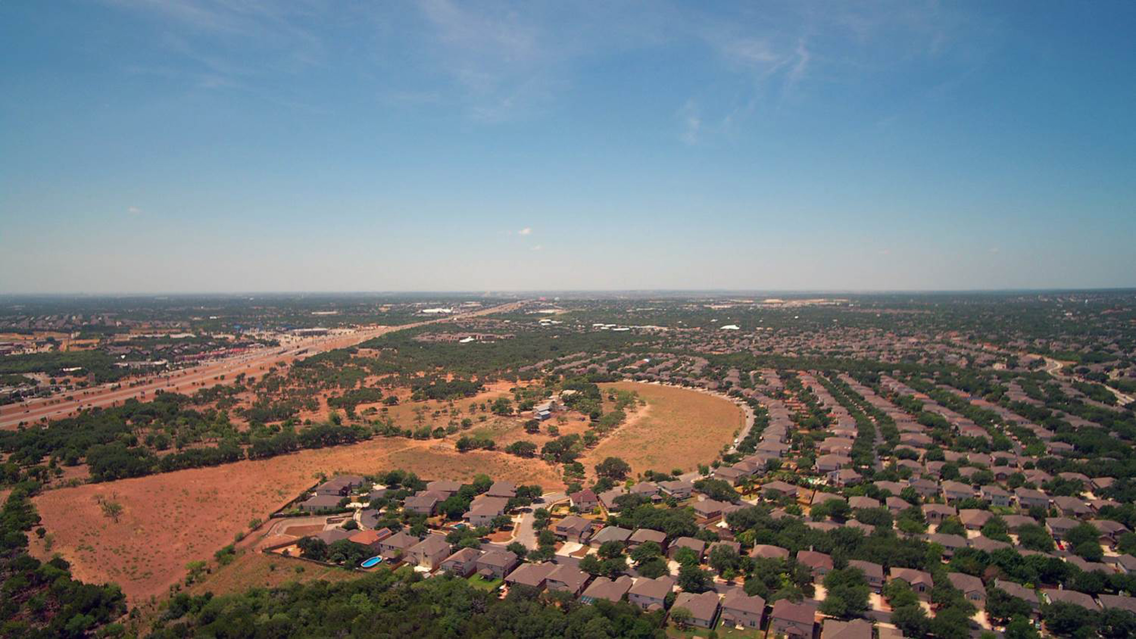 Aerial photography San Antonio