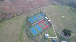 Aerial photography drone athletic