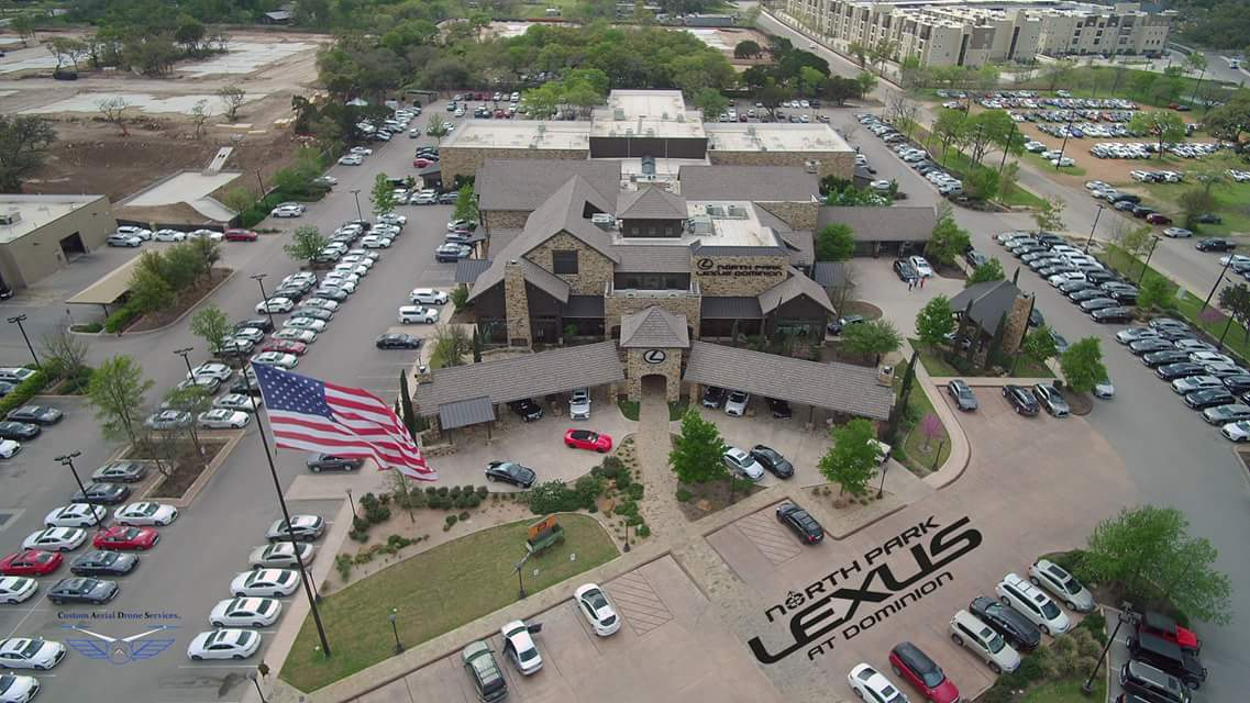 Drone photography in San Antonio