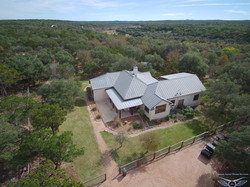 Ranch Home Aerial photography