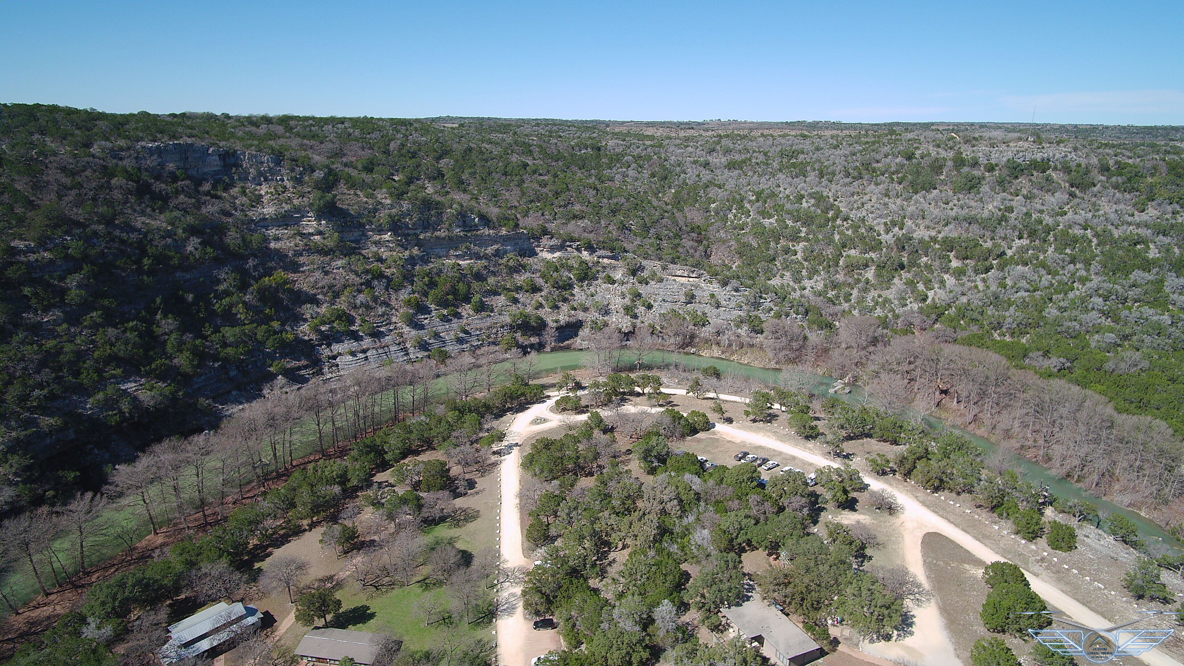 Aerial photography Texas