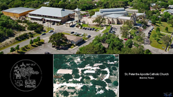 Before & After aerial photo