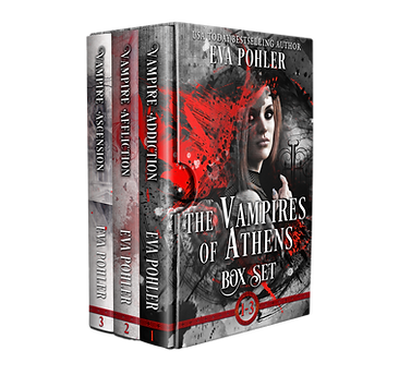 The vampires od Athens box set book 1-3.