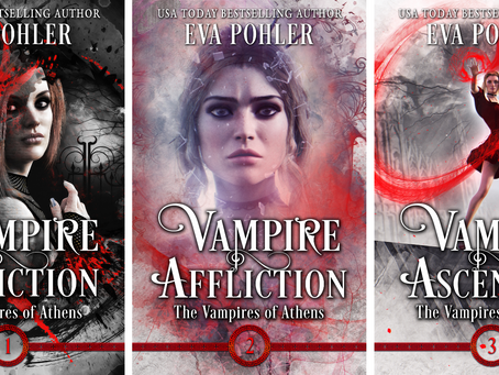 The Vampires of Athens Series Got a Makeover!
