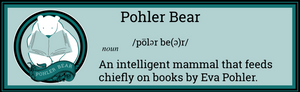 Pohler Bear Bumper Sticker