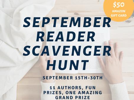 September Reader Scavenger Hunt