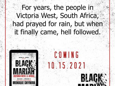 Black Mariah Author Monique Snyman