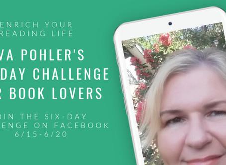Eva Pohler's Six-Day Challenge for Book Lovers