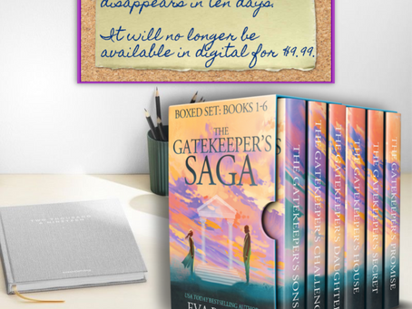 The Gatekeeper's Saga Box Set Will Soon Disappear