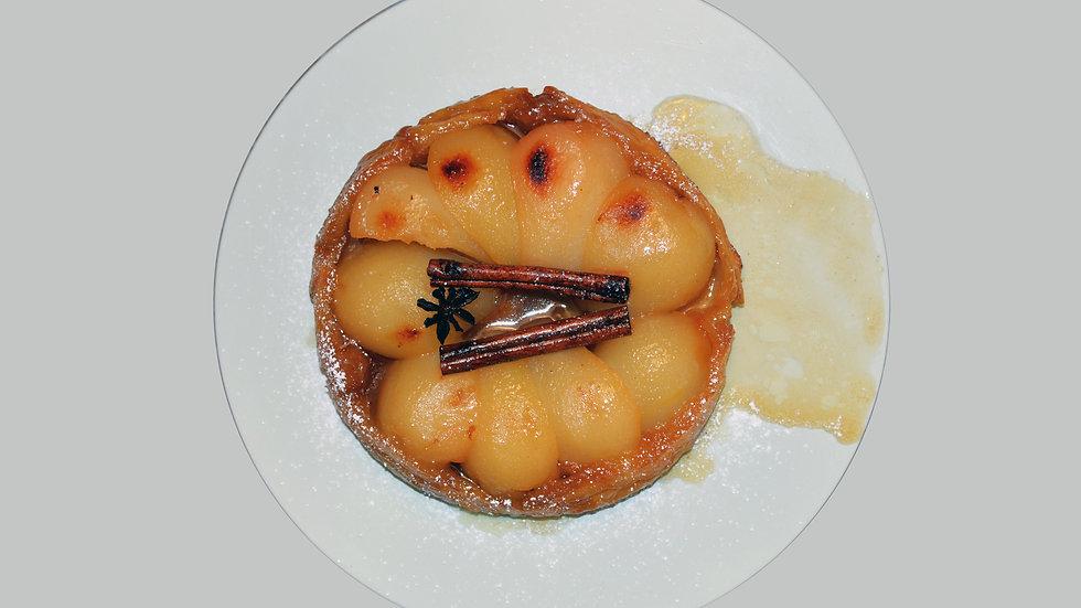 PEAR TARTE TATIN  - 10 servings - Pear, Cinnamon, Star Anise