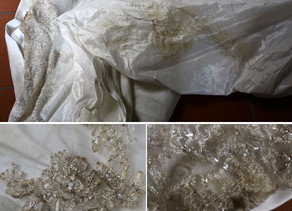 How to Remove Stains from Your Wedding Dress