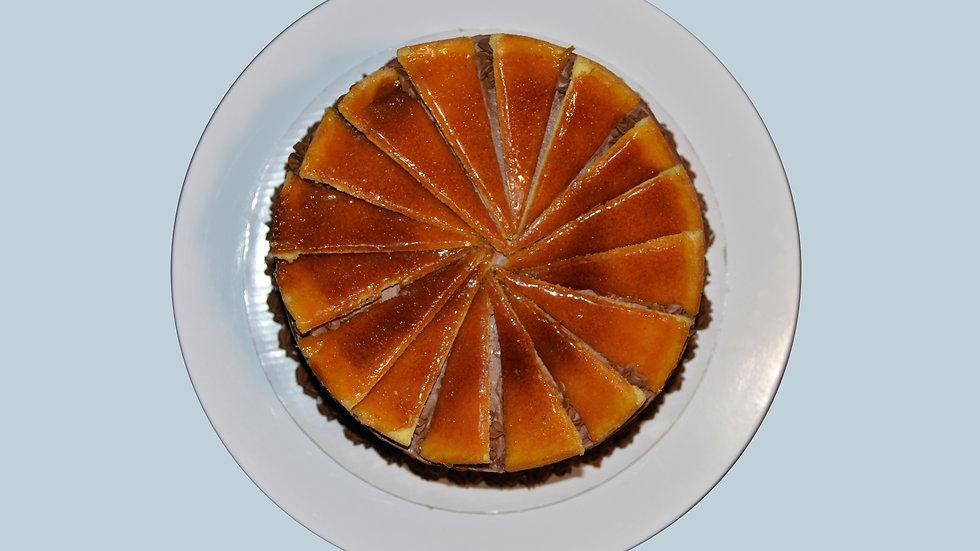 HUNGARIAN DOBOS - Vanilla, Chocolate Buttercream, Sugar Lace