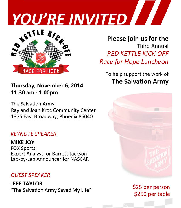 Red Kettle Kick Off 2014