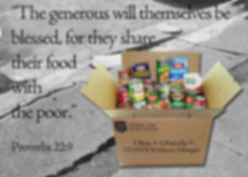 The Salvation Army Food Pantry