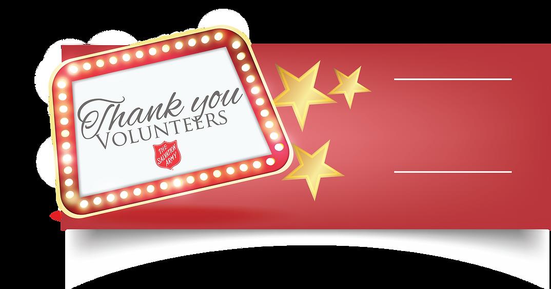 The Salvation Army Volunteer Appreciation Event