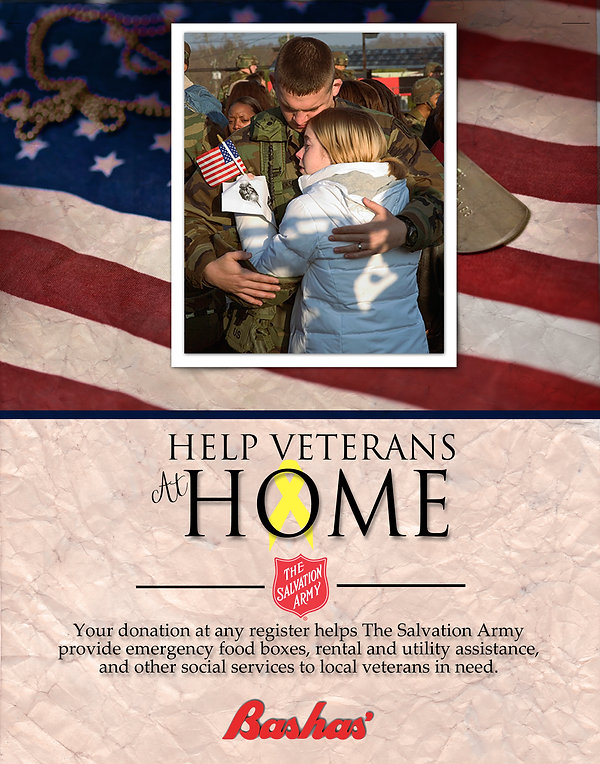 Bashas: Help Veterans at Home