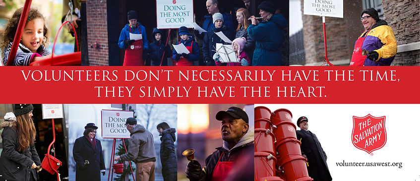 The Salvation Army Red Kettle Bell Ringer