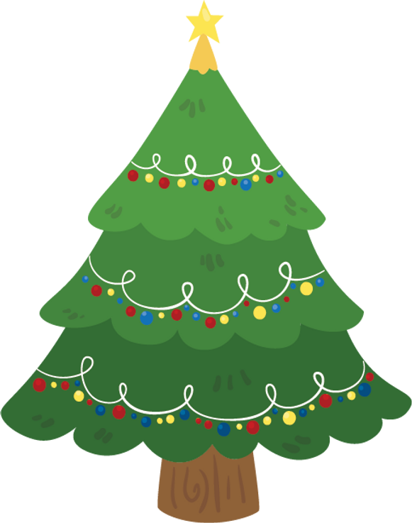 decorated CHRISTMAS tree.png