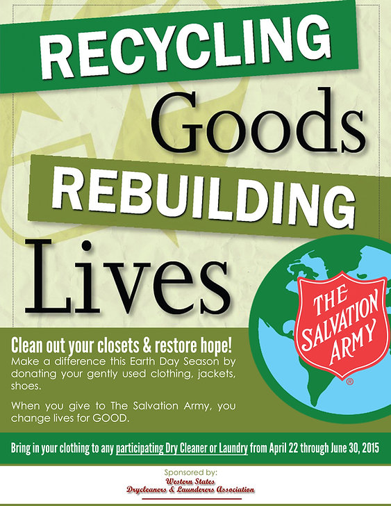 The Salvation Army DOnate GOODs