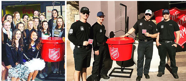 Adopt-A-Kettle Flyer panel images footer