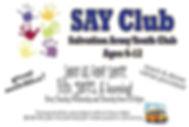 Salvation Army Youth Club SAY Club