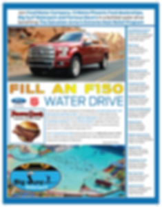 The Salvation Army FORD Fill An F-150 Water Drive