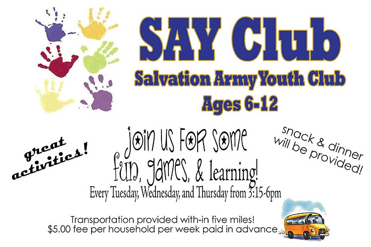 Salvation Army Youth Club