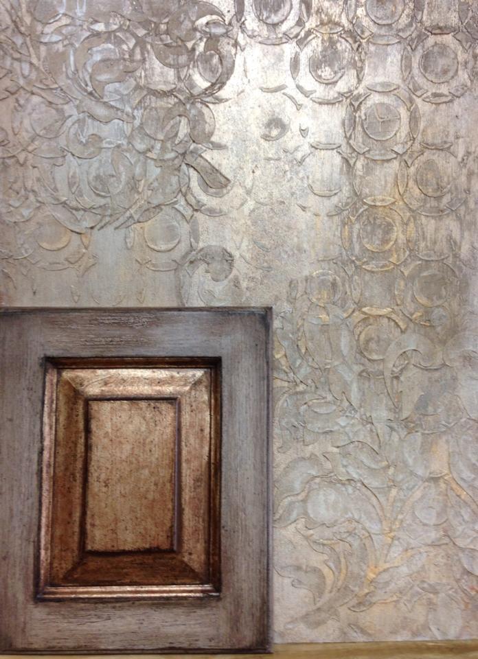 Metallic Plaster & Cabinet Finishes