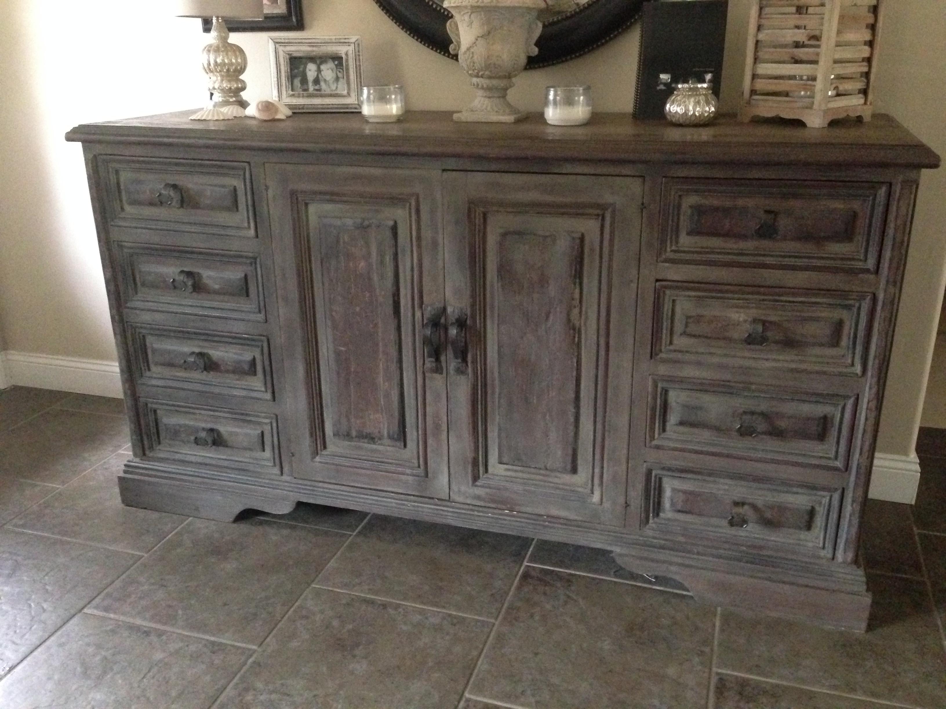 Chalk Paint Furniture Finish