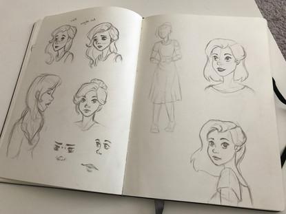 Sketchbook page #1