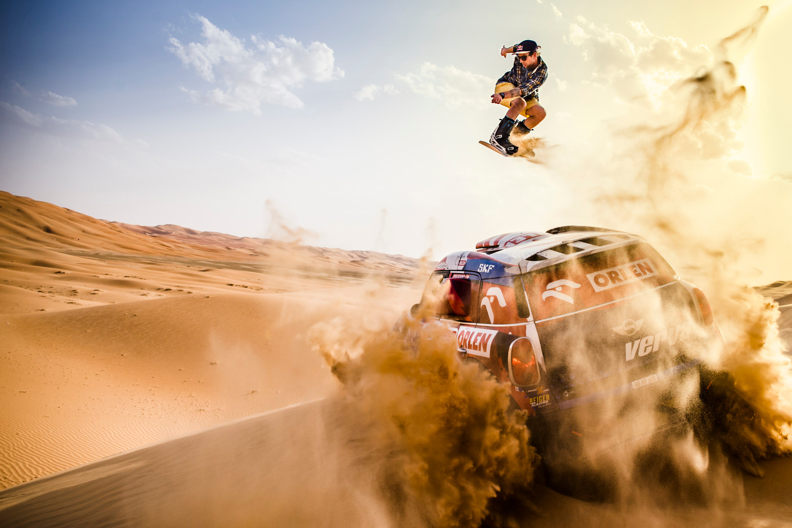 RED BULL DUNE FREESTYLE