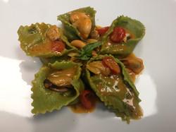 cappellacci freschi agli spinaci