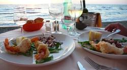 pranzo in spiaggia