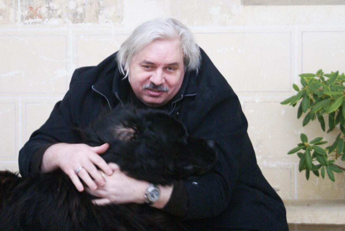 Николай Левашов с Рамзесом