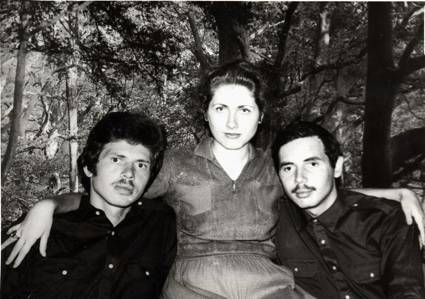 Владимир, Марина и Николай Левашовы