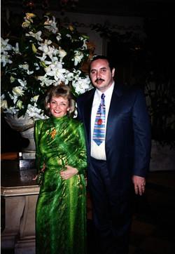 Я с женой Светланой, 1995 год