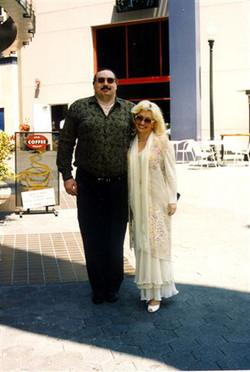 Я с женой в Беверли Хиллз, 1997 год