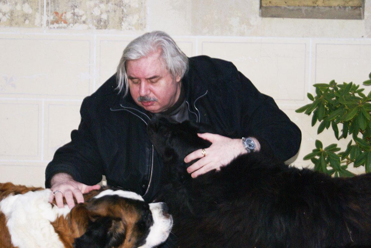 Николай Левашов с Кори и Рамзесом